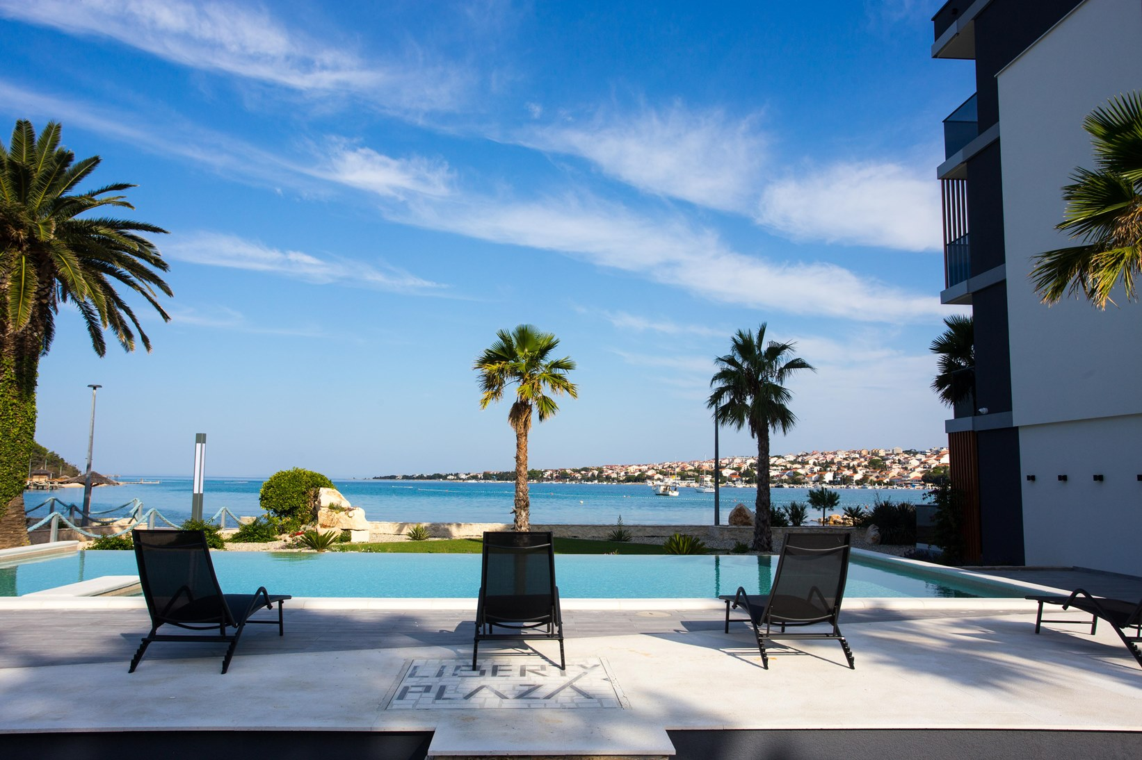 relax near pool novalja